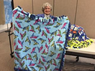 Comfort Blankets for Inova Children's Hospital