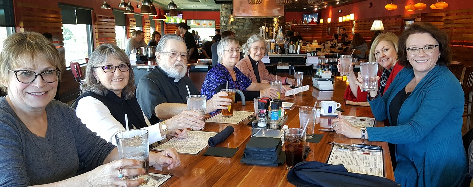 Holy Trinity Parishioners Enjoy a Lunch Out Togetner Slide Show
